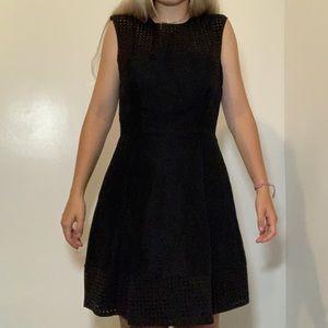 Black Formal Flare Dress